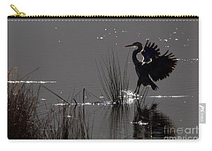 Great Blue Heron Silhouette Carry-all Pouch
