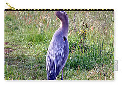 Great Blue Heron Carry-all Pouch