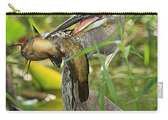 Great Blue Killer Carry-all Pouch by Adam Jewell