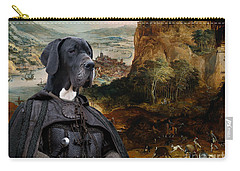 Great Dane Art - The Boar Hunt Carry-all Pouch