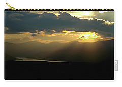 Carry-all Pouch featuring the photograph Great Divide Light by Jeremy Rhoades