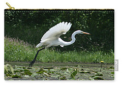 Great Egret Elegance   Carry-all Pouch