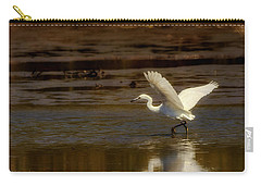 Great Egret Taking Off Carry-all Pouch