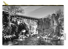 Great Falls In The Winter Carry-all Pouch