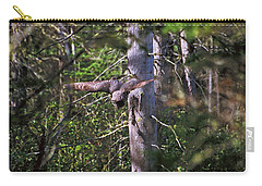 Great Grey Owl Pounces  Carry-all Pouch