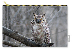 Great Horned Owl Carry-all Pouch