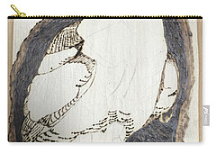 Great Horned Owl Carry-all Pouch by Terry Frederick