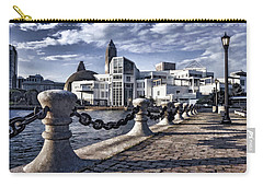 Carry-all Pouch featuring the photograph Great Lakes Science Center - Cleveland Ohio - 1 by Mark Madere