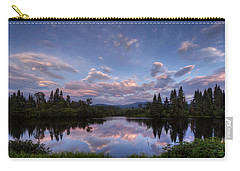 Great North Woods Sunset In New Hampshire Carry-all Pouch