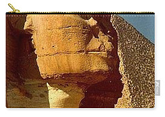 Carry-all Pouch featuring the photograph Great Sphinx Of Giza by Travel Pics