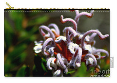 Carry-all Pouch featuring the photograph Great Spider Flower by Miroslava Jurcik