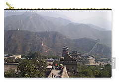 Great Wall Of China At Badaling Carry-all Pouch