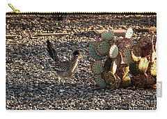Greater Roadrunner Carry-all Pouch by Robert Bales