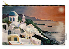 Greek Isles Carry-all Pouch by Marilyn Smith