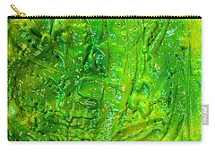 Green Abstract Painting  Carry-all Pouch