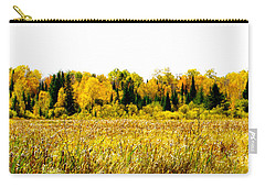Green Amongst The Gold2 Carry-all Pouch by Susan Crossman Buscho