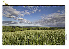 Green And Blue Carry-all Pouch by Daniel Sheldon