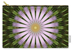 Green And Purple Starburst Carry-all Pouch