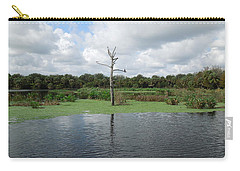 Carry-all Pouch featuring the photograph Green Cay Panorama by Ron Davidson