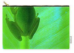 Green Day Carry-all Pouch by Faith Williams