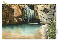 Green Falls II Carry-all Pouch