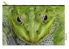 Green Frog Carry-all Pouch