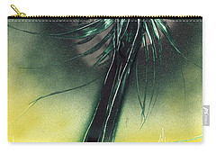Carry-all Pouch featuring the painting Green Giant by Jason Girard