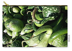 Green Goosenecks Carry-all Pouch