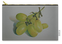 Green Grapes Carry-all Pouch by Pamela Clements