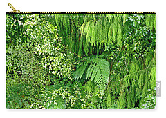 Green Green Carry-all Pouch
