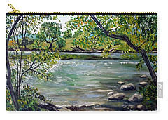 Green Hill Park On The Roanoke River Carry-all Pouch