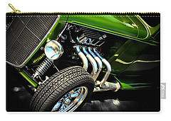 Classic Cars Carry-all Pouch featuring the photograph Green Machine  by Aaron Berg