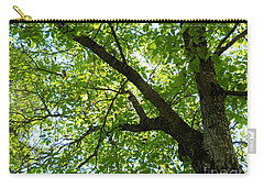 Carry-all Pouch featuring the photograph Green by Ramona Matei