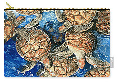 Green Sea Turtles Carry-all Pouch