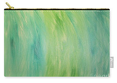 Green Shades Carry-all Pouch by Barbara Yearty