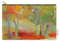 Green Trees Carry-all Pouch