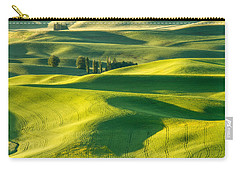 Green Velvet Carry-all Pouch by Patricia Davidson