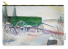 Green Wagon Carry-all Pouch