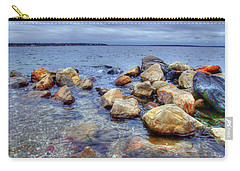Carry-all Pouch featuring the photograph Greenwich Bay by Alex Grichenko