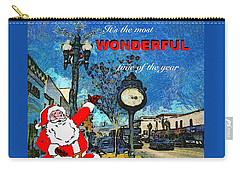 Alameda Christmas Greeting Carry-all Pouch