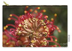 Grevillea Superb Australian Flora Carry-all Pouch by Joy Watson