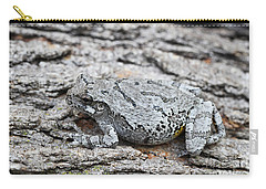 Carry-all Pouch featuring the photograph Cope's Gray Tree Frog by Judy Whitton