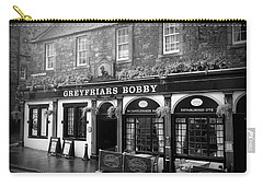 Greyfriars Bobby In Edinburgh Scotland  Carry-all Pouch