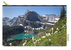 Grinnell Lake With Beargrass Carry-all Pouch by Jack Bell