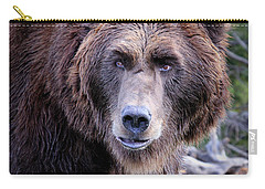 Grizzly Carry-all Pouch by Athena Mckinzie