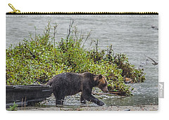 Grizzly Bear Late September 4 Carry-all Pouch