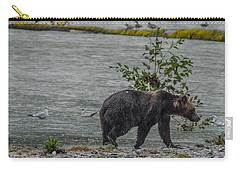 Grizzly Bear Late September 5 Carry-all Pouch