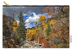 Grizzly Creek Cottonwoods Carry-all Pouch