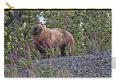 Grizzly Carry-all Pouch by David Gleeson