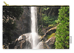 Carry-all Pouch featuring the photograph Grizzly Falls by Mary Carol Story